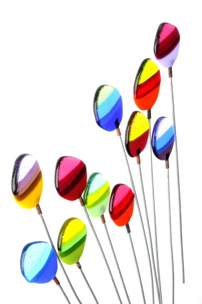 Glass Stems ( 4 Sizes and 3 Colours )