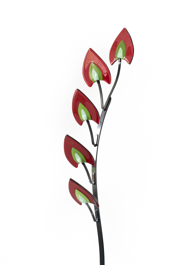 'Dragon's Tails' Sculpture (5 or 7 leaves in 5 colours)